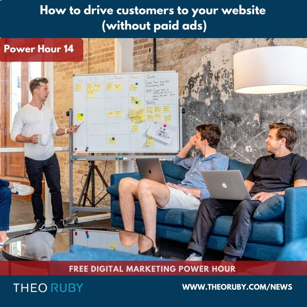 how to drive customers to your website