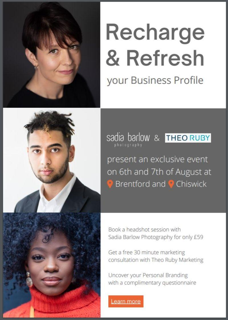 Recharge and Refresh your Business Profile 1